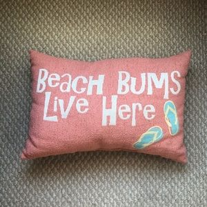Beach Bums Pillow